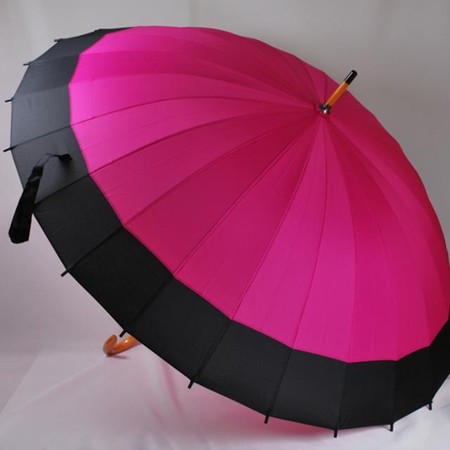 和傘_ピンク